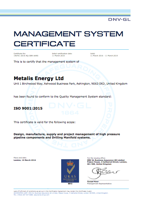 DNV ISO 9001